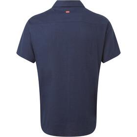 Sherpa Kiran Short Sleeve Shirt Men neelo blue